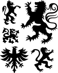 griffin and eagle design