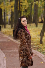 Beauty woman in the park