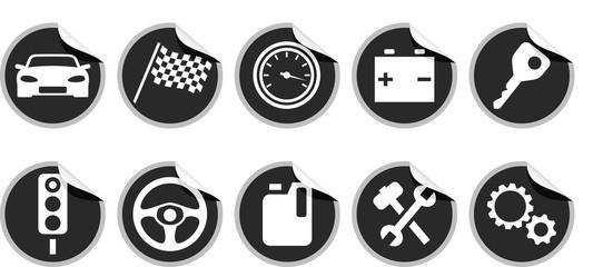 KFZ Buttons
