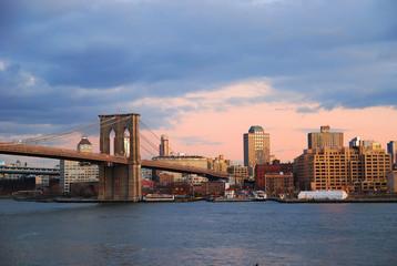 Wall Mural - Brooklyn Bridge New York City