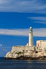 Fortress of El Morro in Havana, Cuba