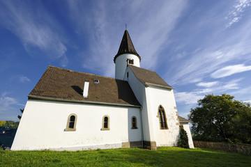 Chapelle du Kirchberg au sommet du village de Berg, Alsace