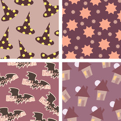 Halloween backgrounds pattern