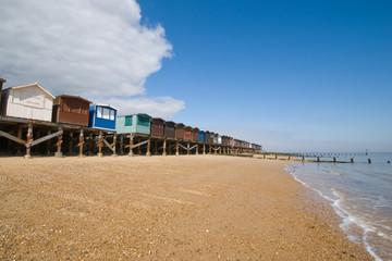 Beach Huts on Stilts