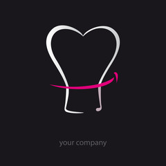 logo entreprise, chef, cuisine