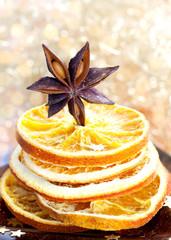Anis und Orangenscheiben