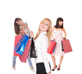 Shopping sexy women