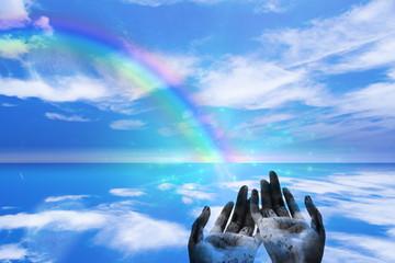 High Resolution Rainbow