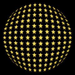 sphère d'étoiles
