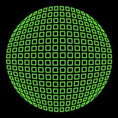sphère fluo