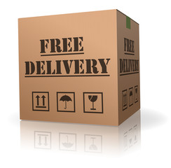 free package delivery order shipment