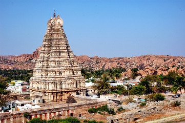 Hampi, Virupaksha Temple - India