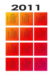 calendario 2011 sfumato