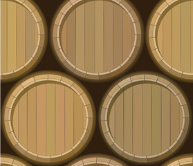 barrel stand seamless background