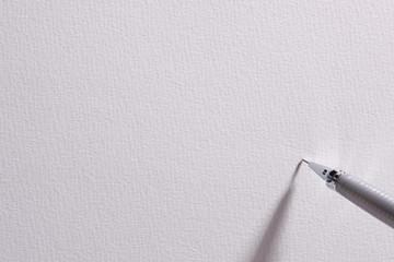 画用紙とペン