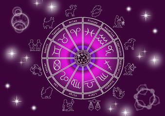 Horoskop - Spirituell - Violett