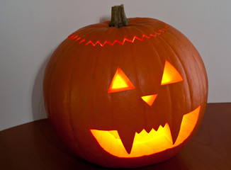 Flashing Pumpkin