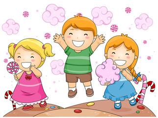 Kids in Candyland