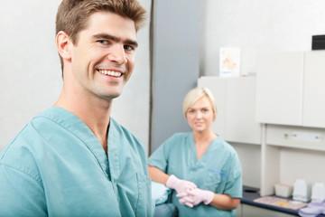Happy Dentist Portrait