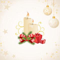 Weihnachtliche Elemente
