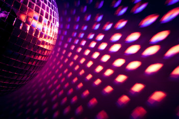 Wall Mural - disco background