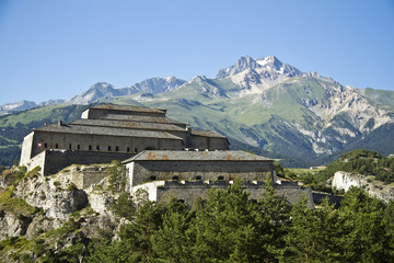 Foto auf Leinwand Befestigung Fort de l'Esseillon