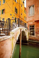 Wall Mural - Small bridge in Venice