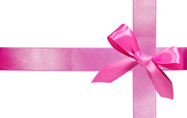 pimk gift ribbon with bow