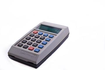Калькулятор на белом фоне