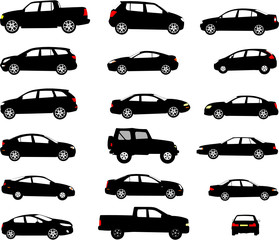 Wall Mural - OMBRES CARS