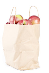 Paper Bag Full of Macintosh Apples