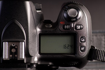 Digital SLR Camera Info Display Screen