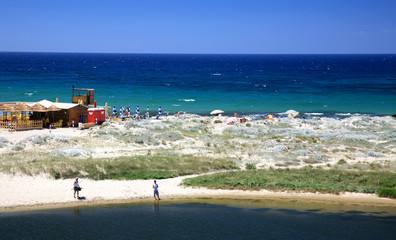 Summer vacation in island Sardinia, Italy