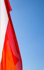 Polnische Fahne