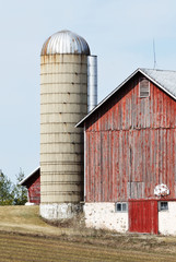 Silo, Barn, and Basketball