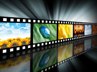Movie Entertainment Film Reel