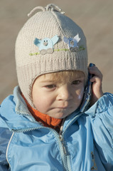 Girl speaking the phone