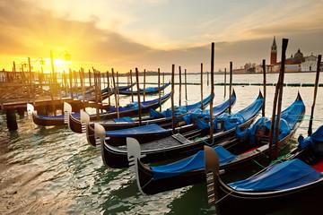 Obraz Sunrise in Venice - fototapety do salonu