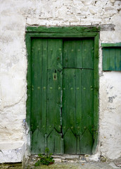 Hauseingang auf Zypern