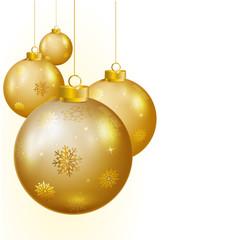Fototapeta boules de Noël obraz