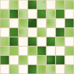 Carreaux_Vert Blanc