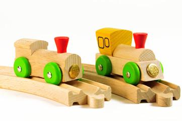 Holzlokomotiven