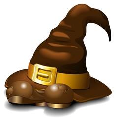 Cappello di Strega con Scarponi-Witch Hat with Boots-Vector