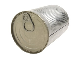 Tin Can isolated.
