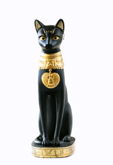statue of egyptian cat