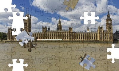 Westminster in un puzzle