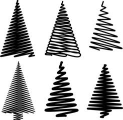 Weihnachtsbaum Vorlagen Entwürfe