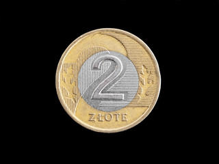 Zloty Polish coin