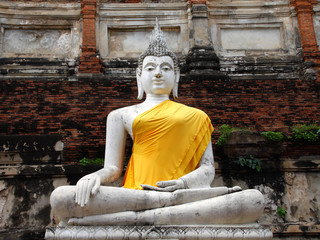 old White Buddha