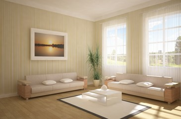 3d interior concept